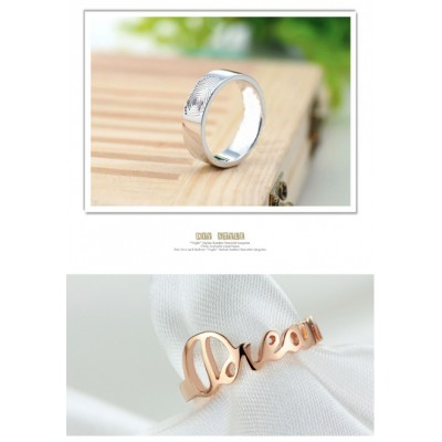 Custom Made Solid Gold Rings - Combine any of your elements