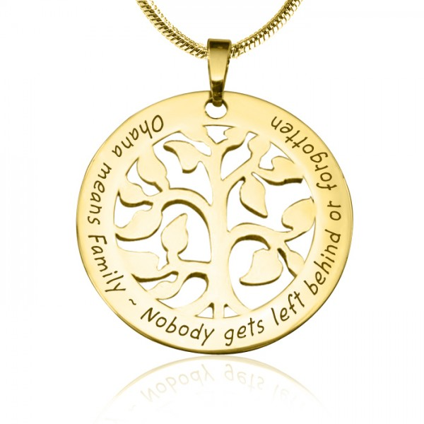 Personalised Ohana Tree - 18CT Gold *Limited Edition