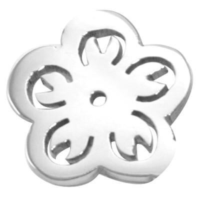 Solid Gold Flower Charm - Dream Locket