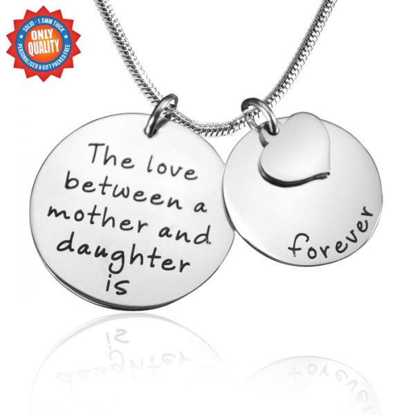 Solid Gold Mother Forever Name Necklace