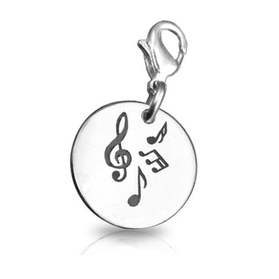 Solid Gold Music Charm