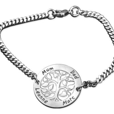 Solid Gold NN Vertical Bracelet