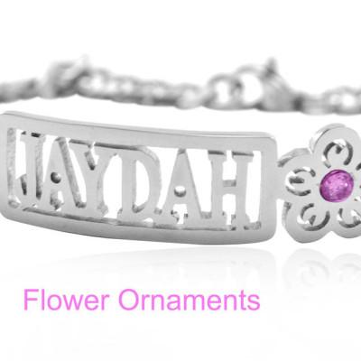 Solid Gold Name Bracelet/Anklet -