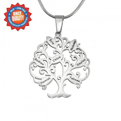 Solid Gold Tree of My Life Necklace 7 -