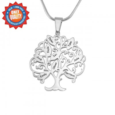Solid Gold Tree of My Life Necklace 9 -