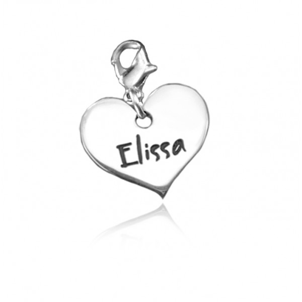 Solid Gold Heart Charm