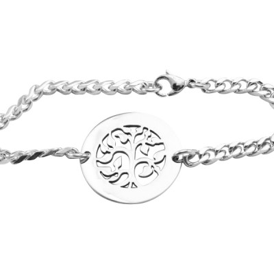 Solid Gold My Tree Bracelet/Anklet -