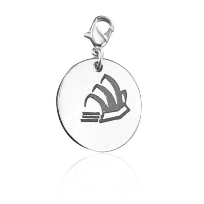 Solid Gold Sydney Opera House Charm