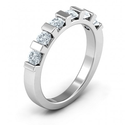 Band of Love Solid White Gold Ring