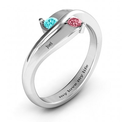 Eternal Enchantment Solid White Gold Ring
