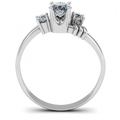 Safe Haven Solid White Gold Ring
