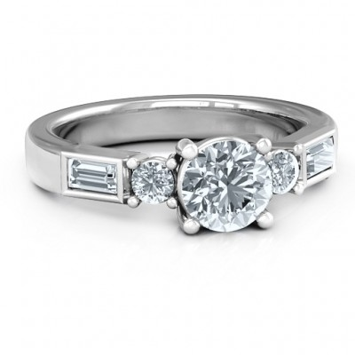 18CT White Gold Andrea Engagement Ring