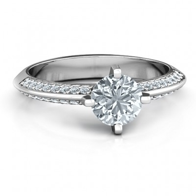 18CT White Gold Maxine Ring