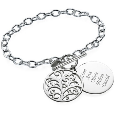 Solid Gold Filigree Tree of Life Bracelet/Anklet