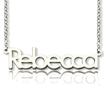 Solid Gold Make Your Own Name Necklace