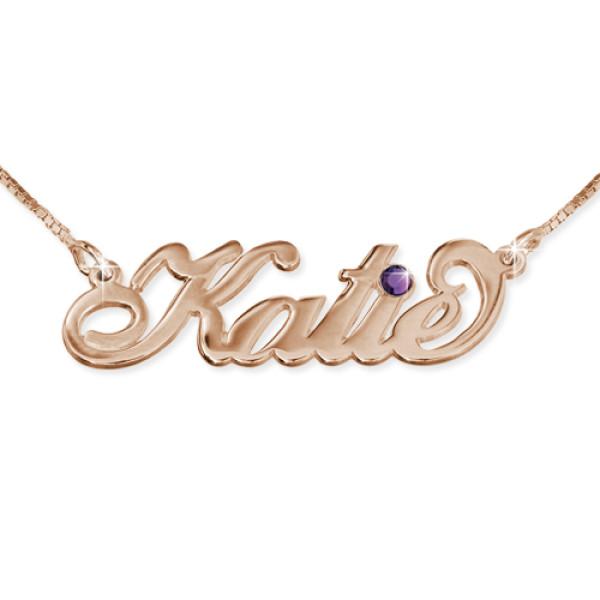 Rose Gold Swarovski Necklace