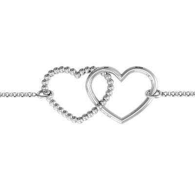 18CT White Gold Opposites AttraCT Bracelet