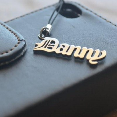 Solid Gold Name Charm ACT of Kindness