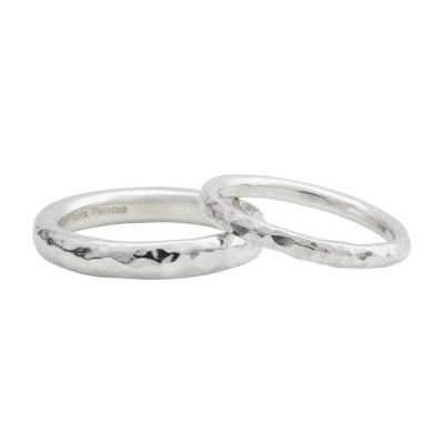 18CT White Gold Halo Wedding Band