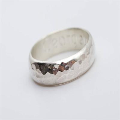 Mens Gunwalloe Solid Gold Ring