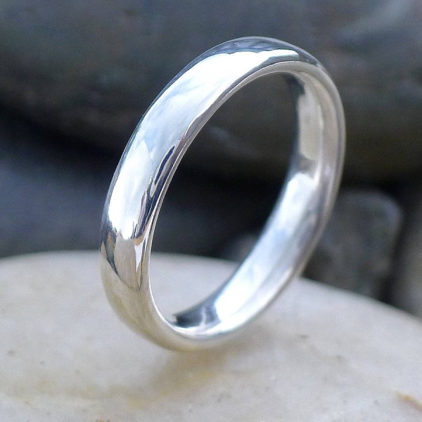 Handmade Comfort FitSolid Gold Ring