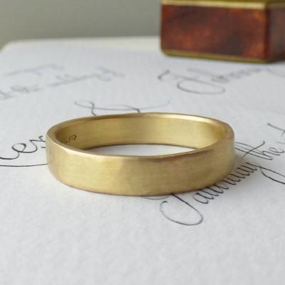 Loki Mens Fairtrade 18CT Gold Wedding Ring