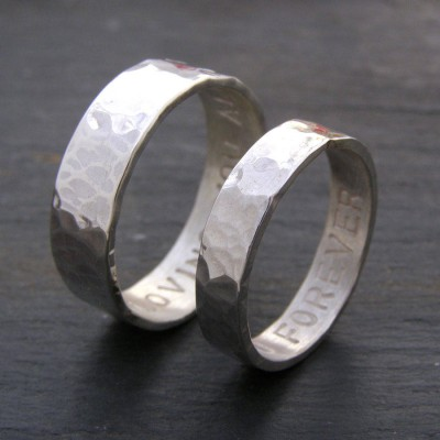 His And Hers Solid Gold Rings