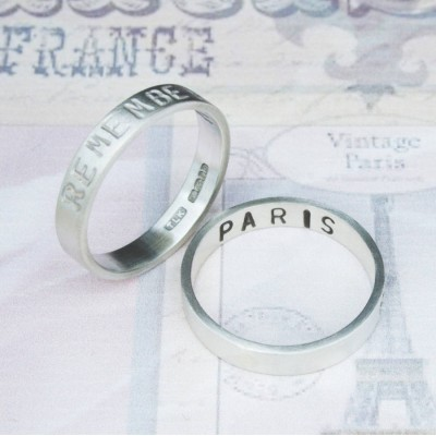 Remember… Your Story Solid Gold Ring