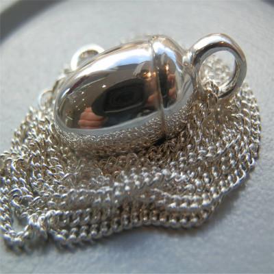 Solid Gold Toggle Acorn Pendant